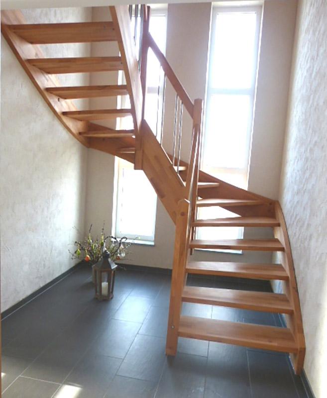 holztreppen classic line. Black Bedroom Furniture Sets. Home Design Ideas